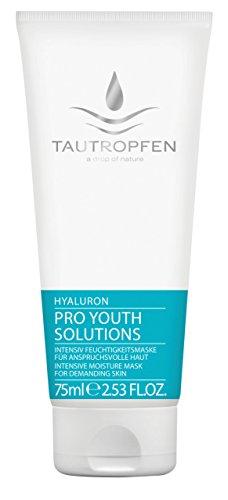 Tautropfen Pro Youth/Hyaluron, Intensiv Feuchtigkeitsmaske für anspruchsvolle Haut, 75 ml