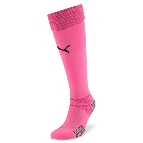PUMA Herren teamFINAL 21 Socks Stutzen, Pink Glimmer, 3