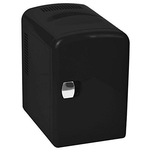 Ardes AR5I04 Mini Frigo Elettrico Portabile 4 Litri Funzione Caldo/Freddo e Casa/Auto, Nero