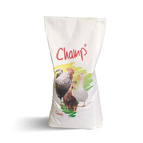 Champ Geflügelkörnerfutter Hühnerfutter ohne Gentechnik mit Muschelschalen, 15 kg