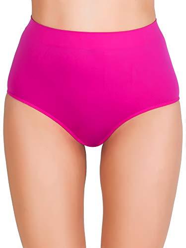 Love My Fashions® Damen Plain Hohe Taille Unterwäsche Frau Nahtlos Strecken Causal Boxer Kurze Hose S M L XL XXL Übergröße