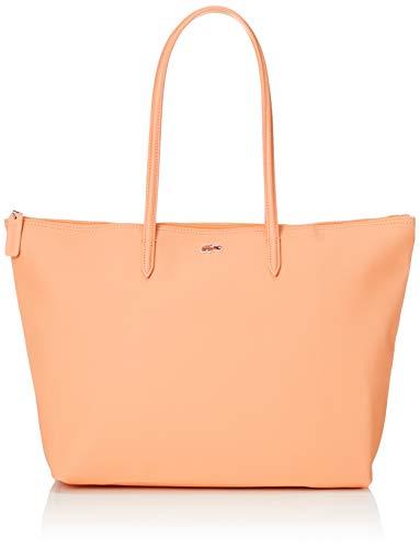 Lacoste - Bolsa de compras para mujer, talla única, Naranja (Recifal), Talla única