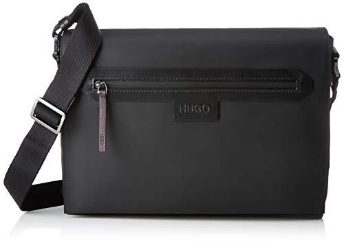 HUGO - 50402981, Organizadores de bolso Hombre, Negro (Black), 8x28x36 cm (B x H T)