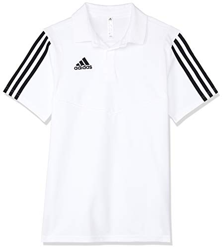 adidas Herren Cotton Wurf 21 Fußballpolo, Weiß Schwarz, S