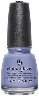 China Glaze Nail Polish, Secret Peri-Winkle, 0.5 Fluid Ounce
