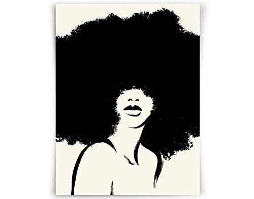 With art afro girl black Annie Lee