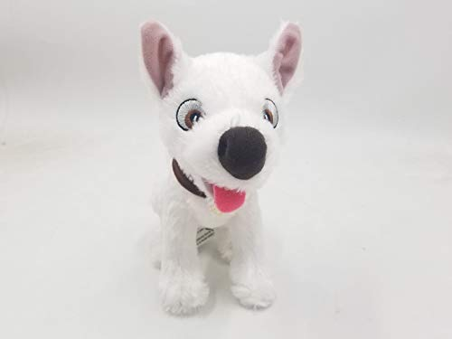 "Thank You Bolt 7.5"" Plush Sitting Superhero Dog Stuffed Toy"