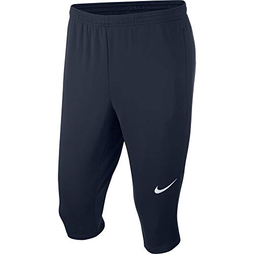 NIKE M NK Dry Acdmy18 3Qt Pant Kpz Sport Trousers, Hombre, Obsidian/Obsidian/White, S