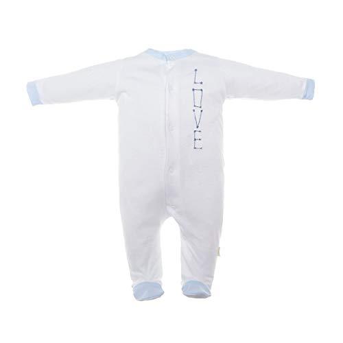 Cambrass 37830 Grenouillère, Bleu (Celeste 2), 62 (Taille Fabricant: 3) Bébé garçon