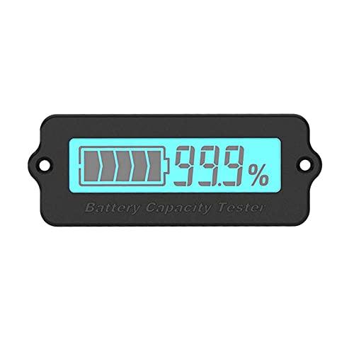 Nuevo perfecto 1 Uds LY6N 12V 24V plomo ácido LiPo indicador de capacidad de la batería Pantalla LCD Medidor de capacidad de la batería Detección de energía Probador digital Voltímetro