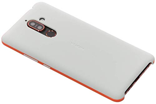 Nokia 7 Plus Soft Touch Cover Case - Light Grey