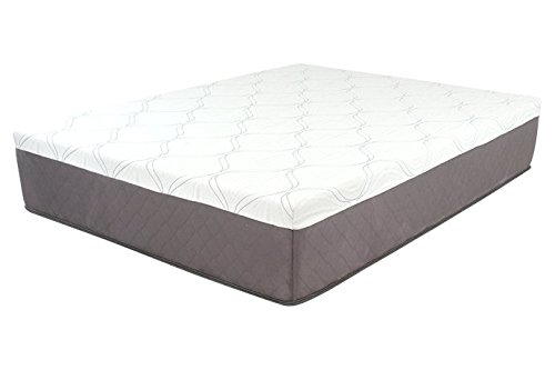 DreamFoam Mattress Ultimate Dreams 13-Inch Gel Memory Foam Mattress, Queen