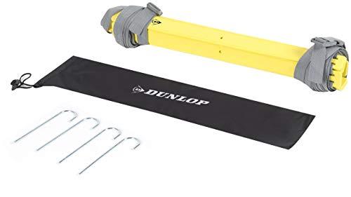 Dunlop Sport Unisex-Adult 8711252139388 Dunlop Trainingsleiter-4 Meter lang-mit Erdnägeln-anschließbar-Aufbewahrungstasche, schwarz