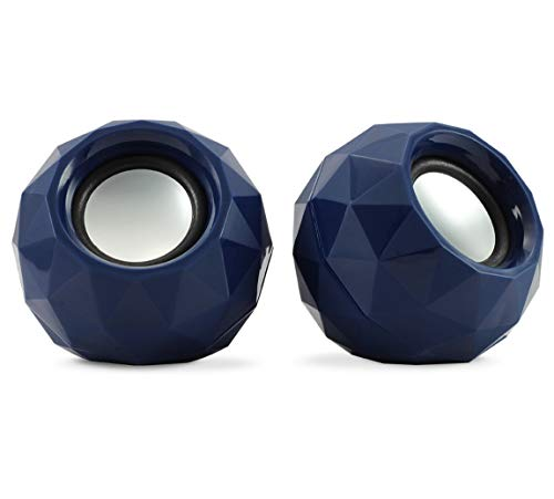 Zebronics Crystal Multimedia Speaker with Volume Control (Blue)