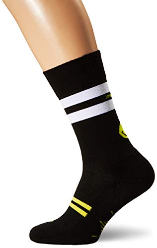 Burlington Herren Smiley Skate Socken, schwarz, 40-46