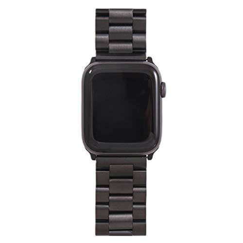 TGGFA Banda para Apple Watch6 5 4 3 2 1 42mm 38mm 40 mm 44mm Metal Acero Inoxidable Correa de Brazalete de Banda de Banda para iWatch Series Accesorios (Band Color : 8HS, Band Width : 38MM 40MM)