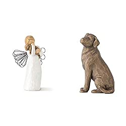 Product 1: Sentiment: For those who share the spirit of friendship written on enclosure card Product 1: 5 Inch hand-painted resin figure with wire wings ready to display on a shelf, table or mantel to clean, dust with soft brush or cloth Product 1: A...