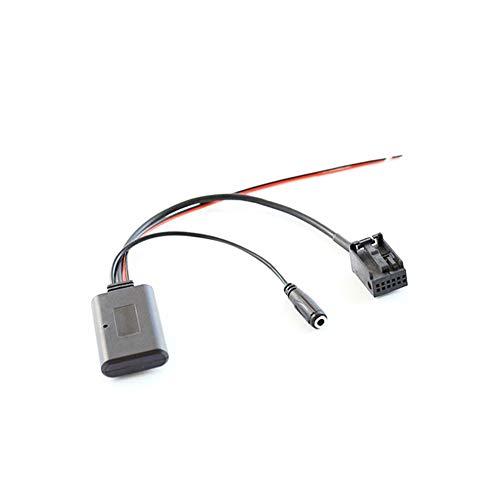 Cable adaptador de radio de coche,Asudaro Módulo Bluetooth para coche Adaptador de cable auxiliar AUX-IN estéreo de radio inalámbrico Compatible con módulo Bluetooth X3 X5 Z4 E83 E85 E86 E39 E53