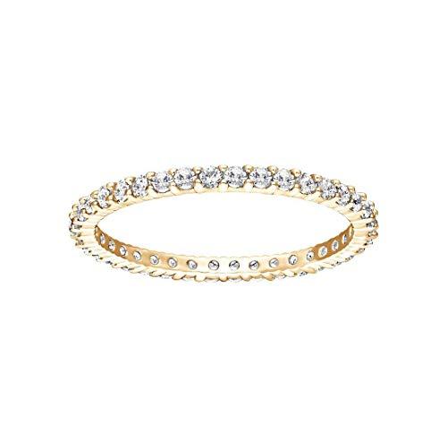 Swarovski Vittore Womens Goud Toon Platet 60 Ring 5531163