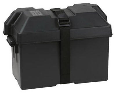 Deka 03189 Marine Battery Box (Large, Group 27/31), 1 Pack