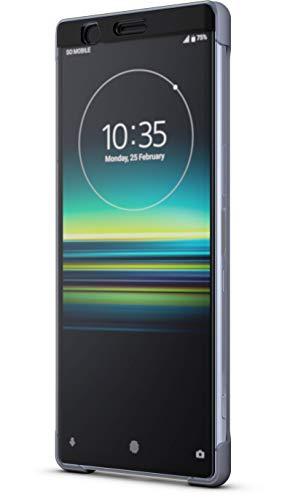 Sony Style Schutzhülle Touch 'Scti30' mit Sichtfenster für Xperia 1, Grau