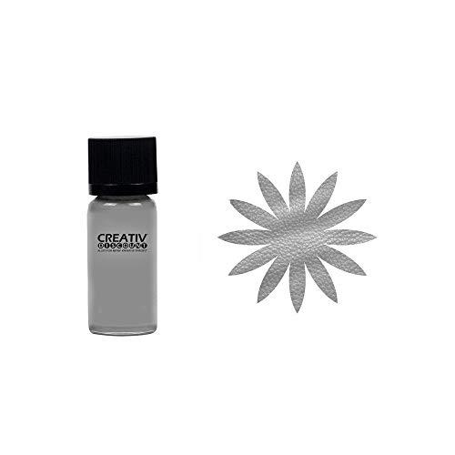 CREATIV DISCOUNT Ledermalfarbe, 20ml, Silber