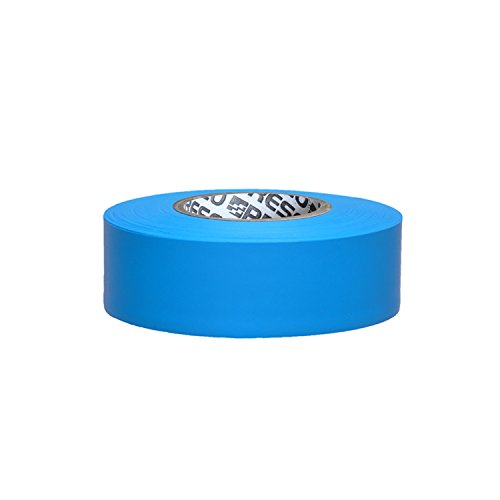 Presco PresGlo Arctic Roll Flagging Tape: 1-3/16 in. x 50 yds. (Neonblau)