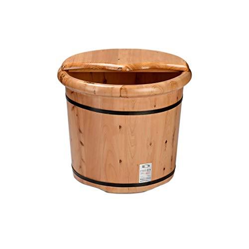 Grand pot de bois Seau 10/L /ø28,5/cm de ros/ée Eau Seau /à la main bois