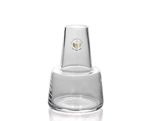 [ ホルムガード ] Holmegaard 花瓶 フローラ フラワーベース 12cm 4340848 クリア(ミディアム) Flora Vase short neck Clear H12 ガラス 一輪挿し シンプル 北欧 [並行輸入品]