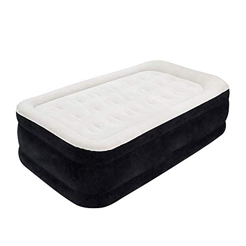 GFSDGF Queen Air Mattress with Built-in Pump - Best Inflatable Airbed Queen Size - Elevated Raised Air Mattress Quilt Top