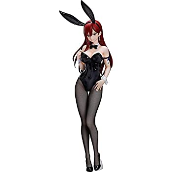 xiaomeng Fairy Tail  Erza Scarlet  Bunny Girl Version  1  4 Scale Statue Action Figure 20inch