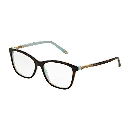 Occhiali da vista Tiffany TF2116B 8134 havana eyeglasses sehbrille donna woman, 53-16