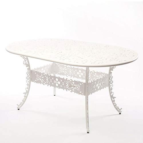 Seletti Table Aluminium Industrie Collection cm. 152 x 90 H.74 – Blanc