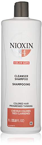Nioxin Cleanser Shampoo, Hair Care System 4,  33.8...