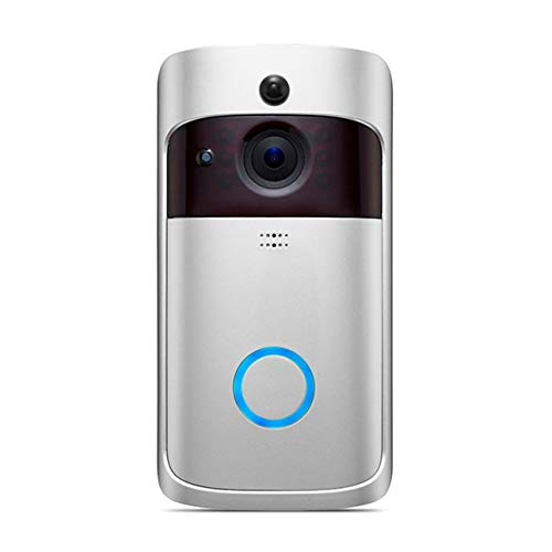 Ba30DEllylelly Smart Wireless Phone Door Bell Camera WiFi Smart Video Intercom Ring Timbre Detecci¨®n de movimiento Video Phone C¨¢mara visual