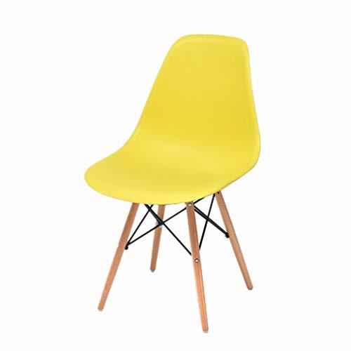 Feng-stool Studentenwohnung Stuhl, Weihnachten Halloween Bankett Gastronomie Hocker - Restaurant Hotel Haushalt Freizeit Hocker (Color : Yellow)