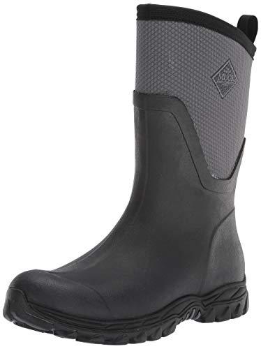 Muck Boot womens Arctic Sport Ii Mid Snow Boot, Black/Grey, 9 US