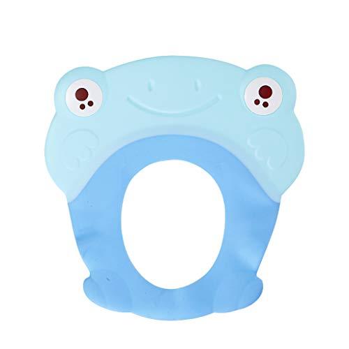YULAN Baby douchekap, gehoorbescherming, waterdicht, kinder douchekap, siliconen materiaal, klittenbandsluiting, groot oor waterdicht