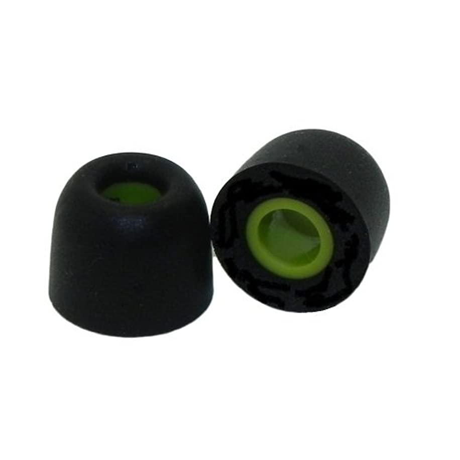 Earphones Plus Brand - Size Medium - 6 Pair Memory Foam Replacement Earbuds, Ear Tips for JayBird Freedom F5 earphones (not Freedom Sprint)