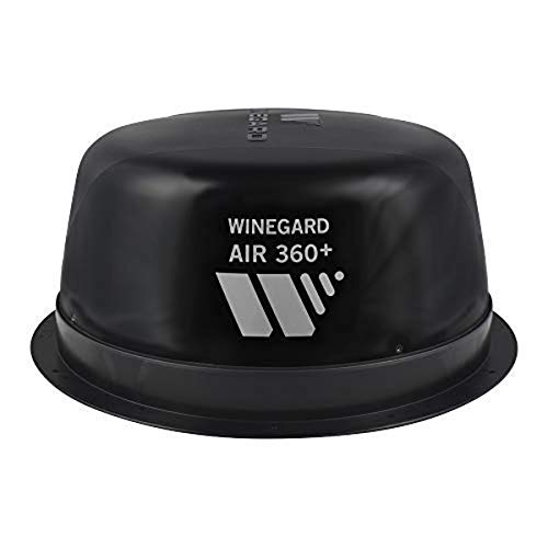 Winegard Air 360+ Amplified Omnidirectional VHF/UHF and FM RV Antenna with AR-360B