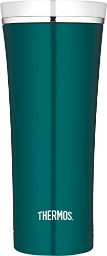 THERMOS Thermobecher Premium, Kaffeebecher to go Edelstahl türkis 470ml, Isolierbecher spülmaschinenfest, dicht, 4004.255.047, Coffee to Go 5 Stunden heiß, 9 Stunden kalt, BPA-Free