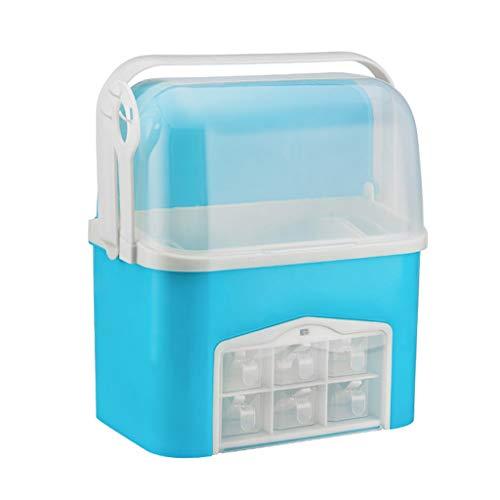 Kruidenbox, Plastic Kruidencontainers - Kruidenpot Om Kruiden, Marinade, Suiker, Zout, Peper In Te Bewaren - Met Stofkap