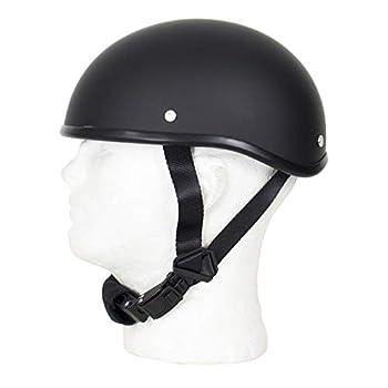 MONACO TRADERS SOA Beanie Novelty Skull Cap Flat Black  Medium Flat Black