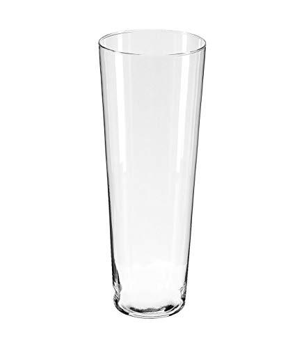 Atmosphera Vase, konisch, transparent, H40