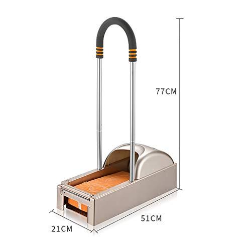 D&F Dispenser Copriscarpe,Macchina per La Copertura della Scarpa,Intelligente ed Ecologico Staccabile,(1 Rotoli -600 Stampi per Scarpe+corrimano in Spugna)