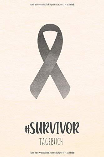 Hautkrebs Tagebuch: Krebstagebuch, Notizbuch zum Eintragen für Survivor oder Kämpfer gegen Hautkrebs! 6 Monate Eintragungen, ca DIN A5, 186 Seiten mit Krebsschleife