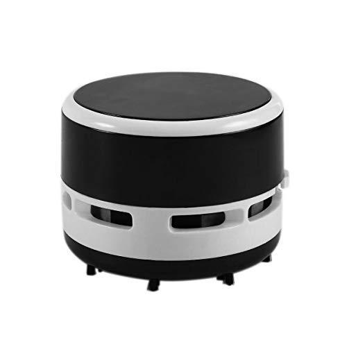STRAW Vacuum Cleaner Escritorio útil tamaño pequeño Limpio Recortes máquina portátil colector de Polvo for el Cuaderno del Teclado de Ordenador