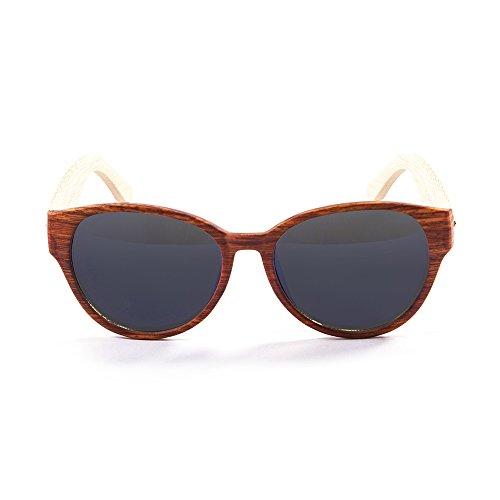 Ocean Sunglasses - cool - lunettes de soleil en Bambou - Monture : Bambou - Verres : Fumée (51000.3)