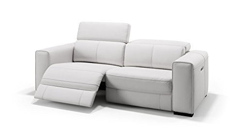 sofanella Designer Ledersofa Ledercouch Relaxsofa Ledergarnitur 2-Sitzer Sofa Couchgarnitur