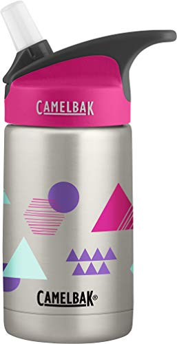 CamelBak Eddy Kids Vacuum Insulated Stainless Steel Bottle 12 oz, Layered Geo
